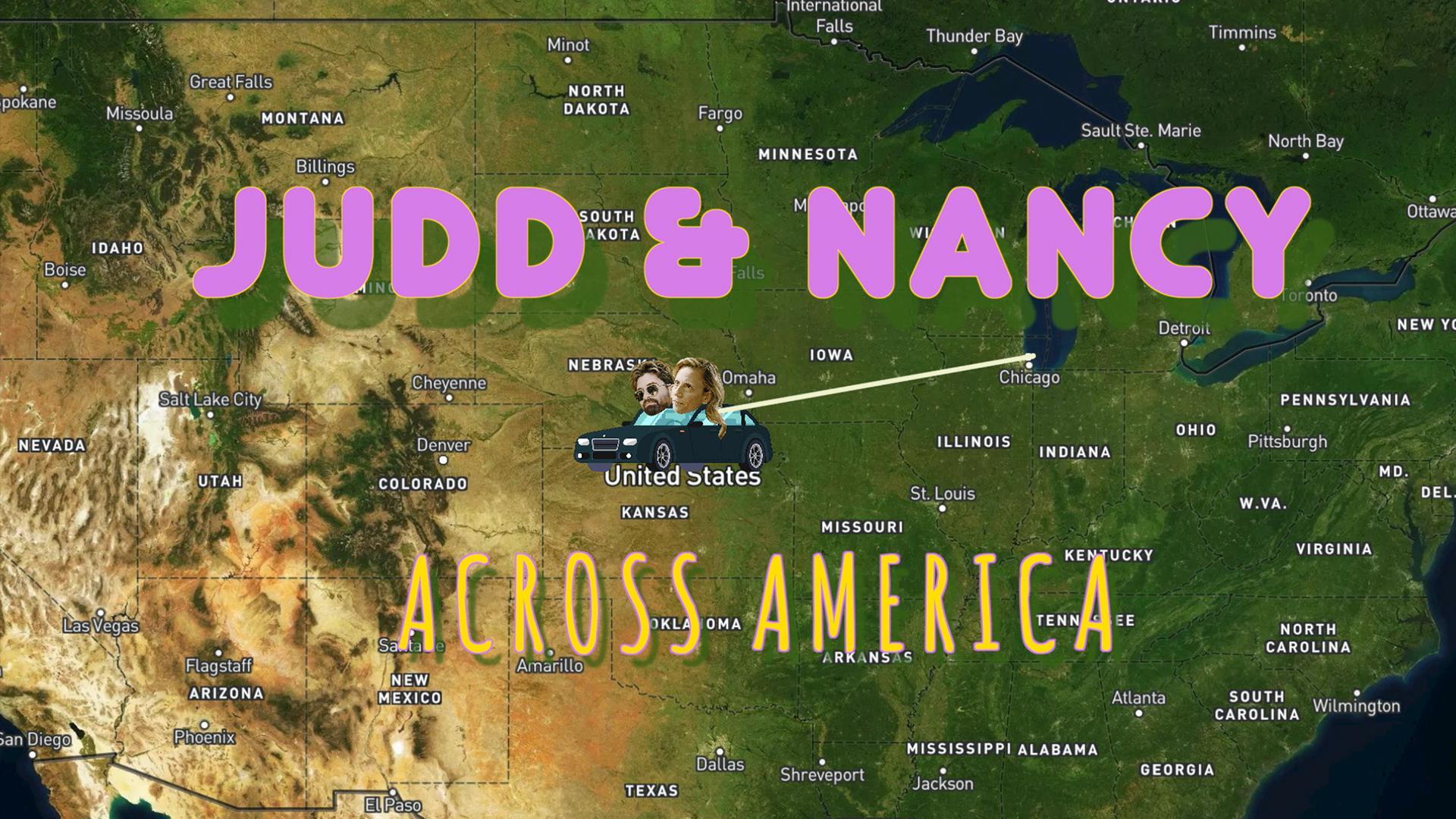 Judd and Nancy Across America